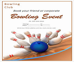 Bowling Fundraiser Flyer Template Lovely 52 Event Flyer Designs In