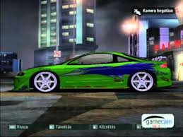 Fast And Furious 1 Cars Nfs Carbon Youtube