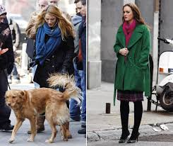 check out the latest pictures of blake lively and leighton meester wearing fab winter coats as