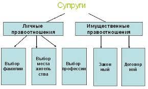 Урок обществознания в м классе по теме Семейное право  Законный режим имущества супругов