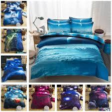 3d bedding set horse bed sheets duvet cover pillowcase nebula starry sky designer home textile fashion 3d bedding set with 51 4 set on baby sky s
