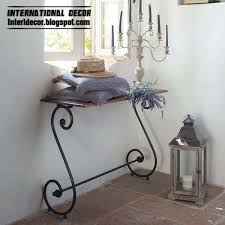 iron shelves, wrought iron forged furniture designs