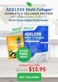 biotrust nutrition ageless multi collagen protein powder 1