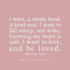 Quotes About Wanting To Be Loved