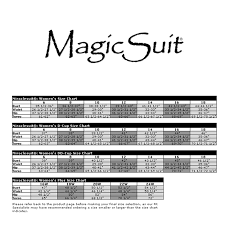 Blk Size Chart Magicsuit 2015 Black Diana One Shoulder Shirred Swimsuit