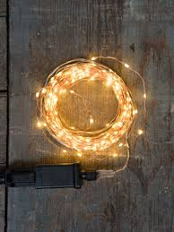 Micro Led Lights Clothing Plug In Led Fairy Lights On Copper Wire Gardeners Com
