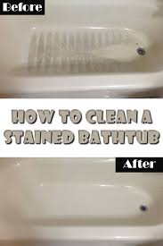 427 best how to clean bathroom images on cleaning how to clean bathroom tub