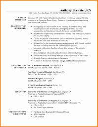 Professional Nursing Resume Nursing Resume Example Unique 24 Registered Nurse Resume Samples 22