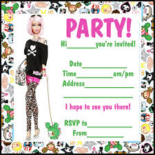 barbie birthday party invitations com 12476showing