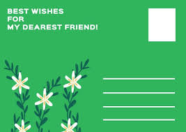 Online Happy Birthday Postcard Template Fotor Design Maker