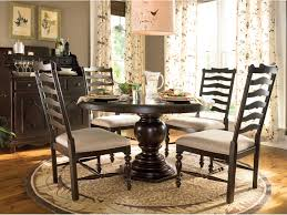paula deen home 72 x 54 round pedestal dining table