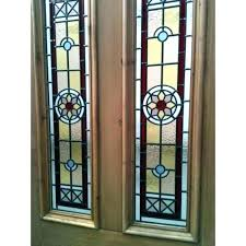 exterior door inserts classic style wrought iron