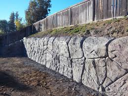 fake rock wall designs