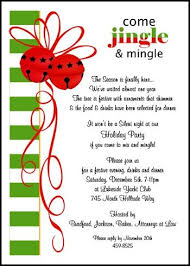 Sample Of Christmas Party Invitation Business Mingle Jingle Invitations For Holiday Party Enjoy