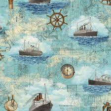 Kids Wallpapers For Bedroom Fashion Wallpaper Murals Kids Room Pirates Sailing Map Pattern