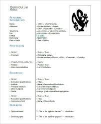 40 Latex Resume Templates PDF DOC Free Premium Templates Adorable Resume Latex