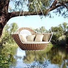 outdoor hanging beds swing bed round frame