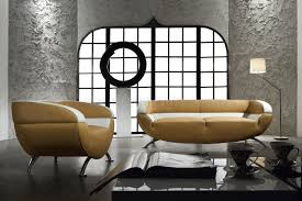 Two Piece Living Room Set Two Tone Leather 3 Piece Living Room Set Miss 60 Light Brown Beige