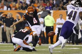 Bullock Perfect On Kicks Gets 2 Year Extension From Bengals