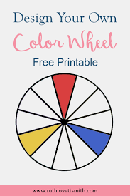 Colors are just as important as the content of your presentation. Free Printable Color Wheel Learn Color Theory