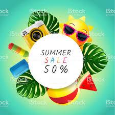 夏レイアウト デザイングリーティング カード表紙バナーデザイン