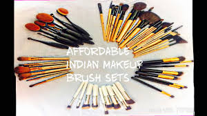 makeup brush sets under 600 in india best quality beginner friendly affordable