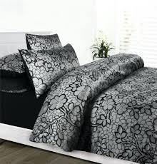 full size of silver duvet cover queen emma grey silver black jacquard satin queen quilt doona