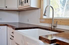 image of sink ikea butcher block countertop