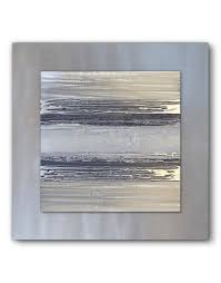 silver framed wall art uk