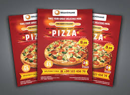 Flyer Pizzeria Design Free 26 Pizza Flyer Examples In Publisher Word