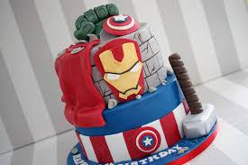 2 Tier Marvel Avengers Birthday Cake Bakealous