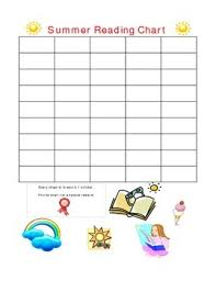 Summer Book Reading Chart Summer Reading Chart Chapters By School On The Fly Tpt
