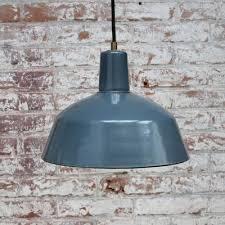 vintage industrial light blue enamel
