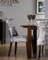 get inspired to add the soft sheen of velvet to your home whether with sofas or dining chairs the look on furniture choice