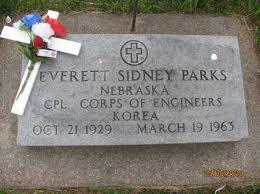 PARKS, EVERETTE SIDNEY - Saline County, Nebraska | EVERETTE SIDNEY PARKS -  Nebraska Gravestone Photos