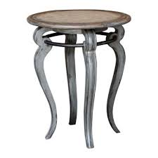 mariah accent table solid wood