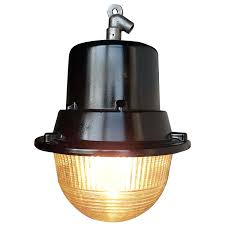 Old Warehouse Light Fixtures Vintage Industrial Pendant Light With Brass Fitting