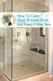 soap s on shower doors how to easily clean