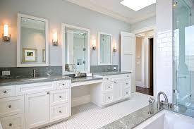bathroom vanity granite backsplash. His And Hers Vanities, Painted Cabinets, Granite Counters, Backsplash Traditional-bathroom Bathroom Vanity F