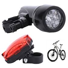 Bmx Bike Lights Led Waterproof Bike Bicycle Mountain Cycle Mtb Front Rear Tail Lights Kit Bright