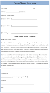 Gallery Of Telephone Account Manager Cover Letter Accounts