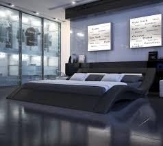 modern nerius black platform bed  toshbedroom  pinterest