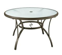 48 dining table patio round dining table set glass outdoor deck garden furniture pool yard