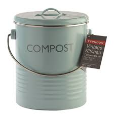 image of compost bin kitchen bench