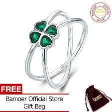 BAMOER Free Shpping <b>Hot Sale 100</b>% <b>925</b> Sterling Silver Lucky ...