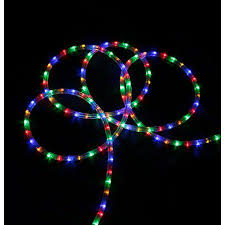Rope Lights Walmart Beauteous 32' MultiColor LED IndoorOutdoor Christmas Rope Lights Walmart