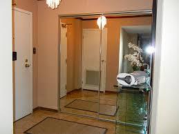 Frameless mirrored closet doors Floor To Ceiling Frameless Mirror Closet Doors Small Pinterest Frameless Mirror Closet Doors Small Wonderful Frameless Mirror