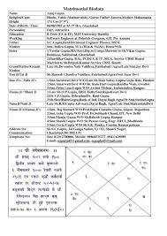 marriage biodata format in english biodata for marriage boy filename matrimonial resume format