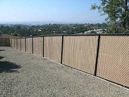 Chain Link Fence Privacy Ideas Chain Link Fence Upgrade With Balcony