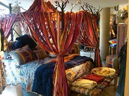 the fiery feeling of oriental red without a doubt bohemian decor